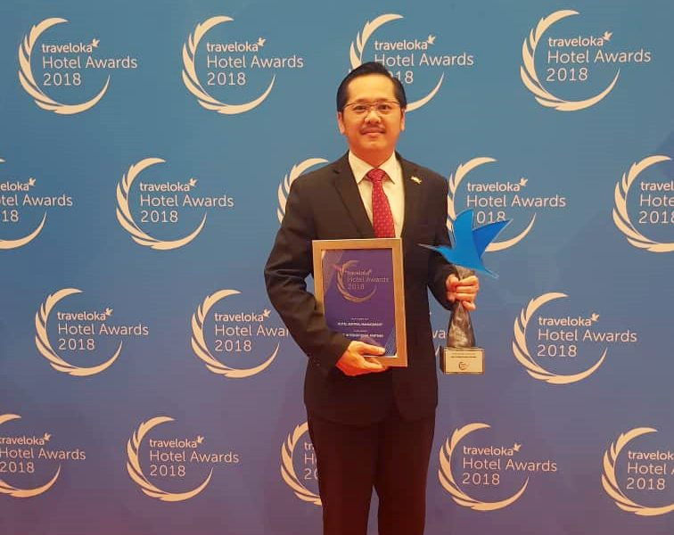 Hotel Sentral Management Traveloka Award 2018