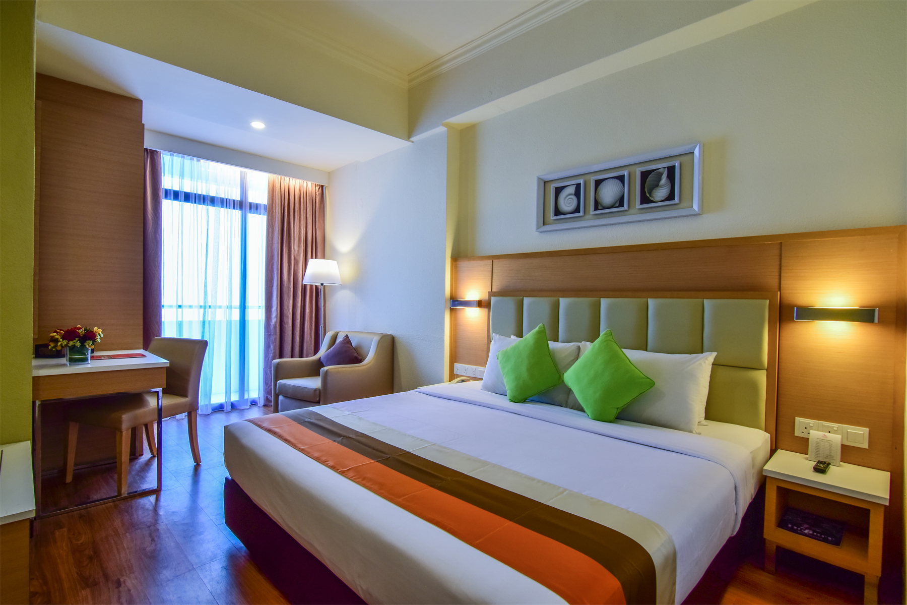 Hotel Sentral Seaview Penang Family Room
